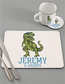 gifts: Personalised Dino Kids Kitchen Set!
