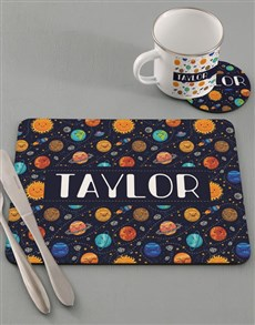 gifts: Personalised Space Kids Kitchen Set!