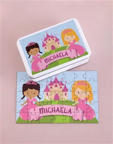 gifts: Personalised Fairy Tale Wood Puzzle Set!