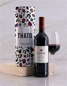 gifts: Personalised Colour Print Wine Tube!