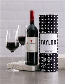 gifts: Personalised Afro Chic Wine Tube!