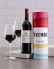 gifts: Personalised Gradient Brush Wine Tube!