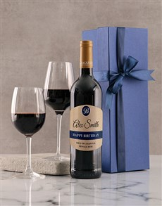 gifts: Personalised Royal Birthday Backsberg Giftbox!
