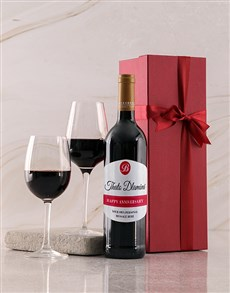 gifts: Personalised Red Birthday Giftbox!