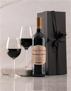 gifts: Personalised Black Backsberg Anniversary Giftbox!