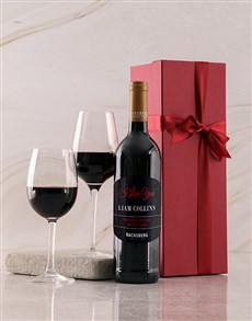 gifts: Personalised Red Backsberg Love Giftbox!