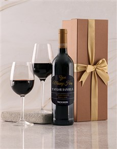 gifts: Personalised Gold Backsberg Giftbox!