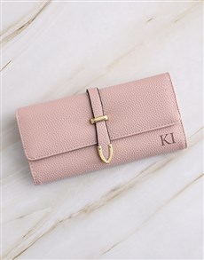gifts: Personalised Pink Long Purse!
