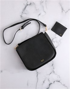 gifts: Personalised Cross Body Bag and Card Holder !