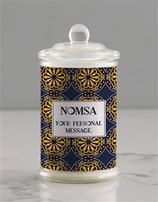 gifts: Personalised Batik Candle Jar!
