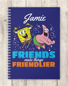 Picture of Personalised Friends Make Notebook!