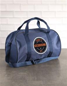 gifts: Personalised Navy Kit Bag!