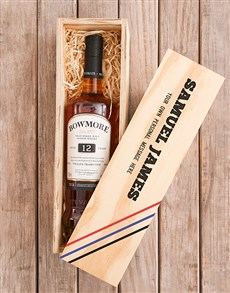 gifts: Personalised Bowmore Printed Crate!