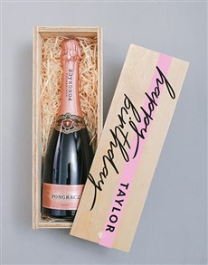gifts: Personalised Pongracz Rose Printed Crate!