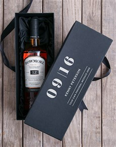 gifts: Personalised Bowmore Giftbox!