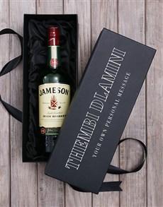 gifts: Personalised Jameson Irish Whiskey Wine Giftbox!