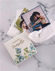 gifts: Personalised Happy Birthday Photo Box!