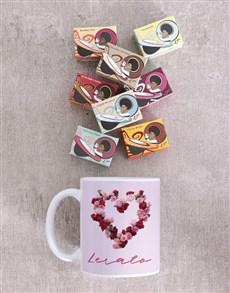 gifts: Personalised Rosy Love Mug!