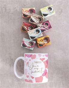 gifts: Personalised Favourite Heart Mug!