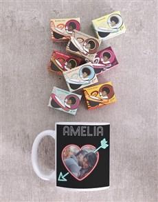 gifts: Personalised Neon Love Mug!