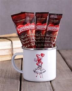gifts: Personalised Reason I Smile Camper Mug!