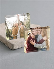 Picture of Personalised Best Friends Acrylic Blocks!