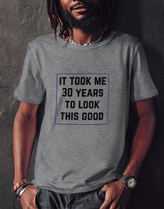 gifts: Personalised Looking Good T Shirt!