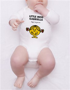 gifts: Personalised Little Miss Sunshine Onesie!