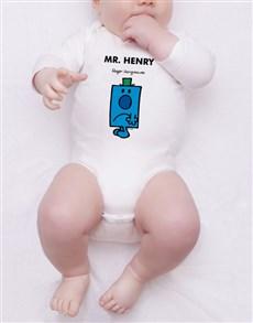 gifts: Personalised Mr Grumpy Onesie!