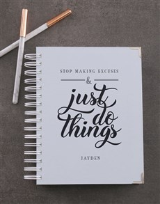 gifts: Personalised Do Things Diary!
