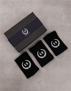 gifts: Personalised Set of Monogram Socks!
