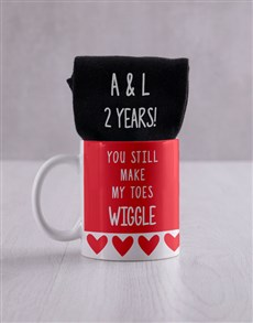 gifts: Personalised Wiggling Toes Gift Set!