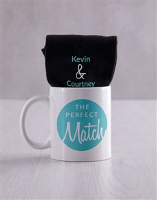 gifts: Personalised Perfect Match Socks Set !