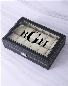 gifts: Personalised Initials Watch Box!