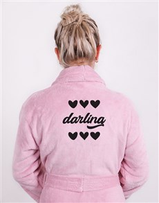 gifts: Personalised Darling Pink Gown !