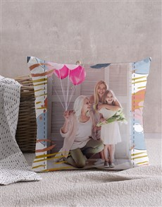 gifts: Personalised Pastel Patterned Scatter Cushion !