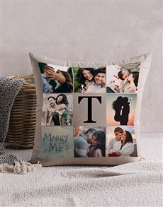 gifts: Personalised Memory Collage Scatter Cushion!