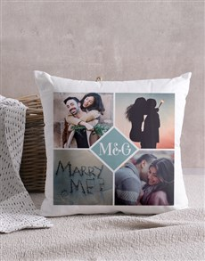 gifts: Personalised Love Initials Scatter Cushion!