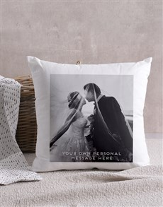 gifts: Personalised Photo Message Scatter Cushion !