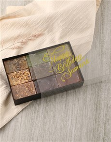 gifts: Personalised Birthday Herbal Soap Gift Box!