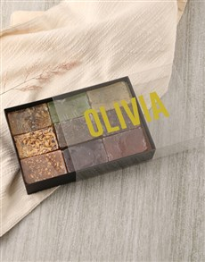 gifts: Personalised Modern Name Herbal Soap Gift Box!