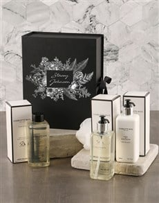 gifts: Personalised Floral Charlotte Rhys Pamper Box Set!