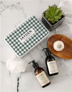 gifts: Personalised Birthday Bath Time Tin!
