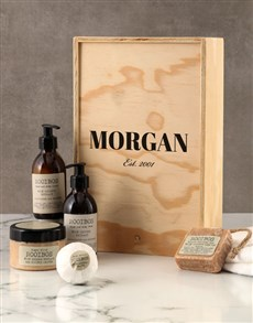 gifts: Personalised Classic Rooibos Bath Time Crate!