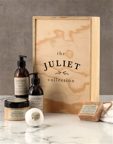 gifts: Personalised Minimalist Rooibos Bath Time Crate!