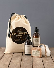 gifts: Personalised Gentleman Rooibos Bath Time Bag!