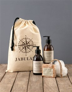 gifts: Personalised Compass Rooibos Bath Time Bag!
