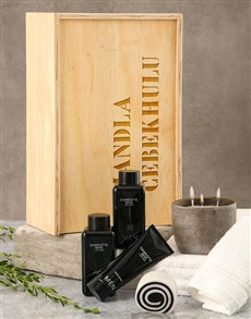 gifts: Personalised Rustic Bath Time Crate!