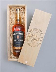 gifts: Personalised Vintage Jameson Crate!
