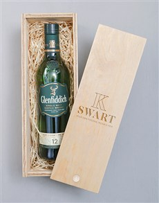 gifts: Personalised Glenfiddich Crate!